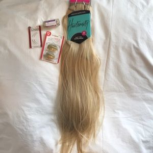 "18"" Blonde Hair extensions"